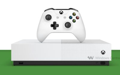 Se muestra la Xbox One S sin lector de disco, lanzamiento 7 de mayo