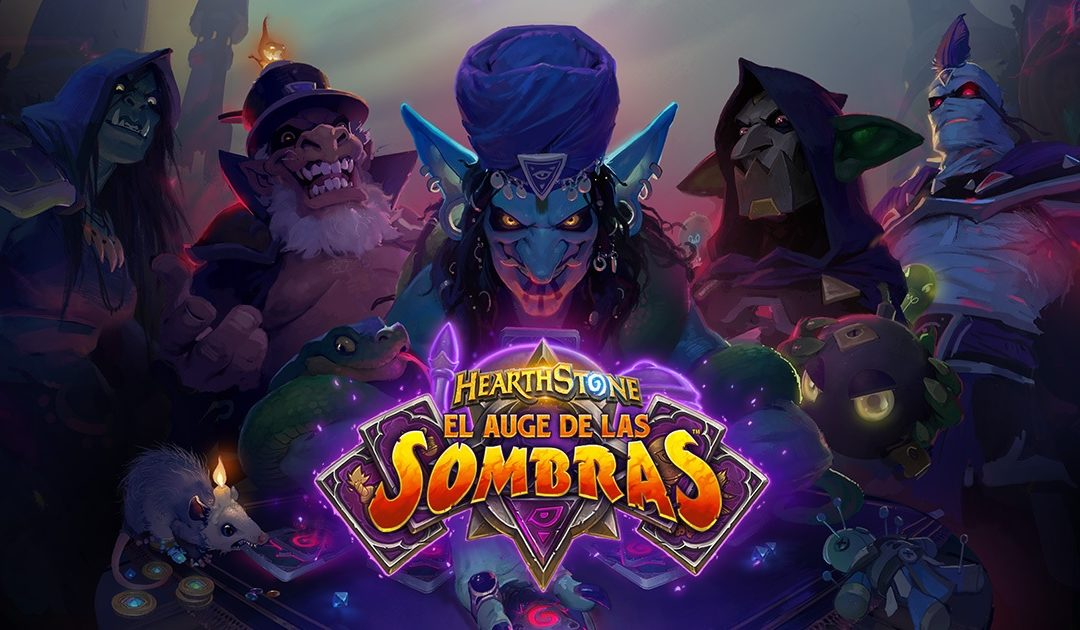 Blizzard anuncia la nueva expansión de Hearthstone: El Auge de las Sombras