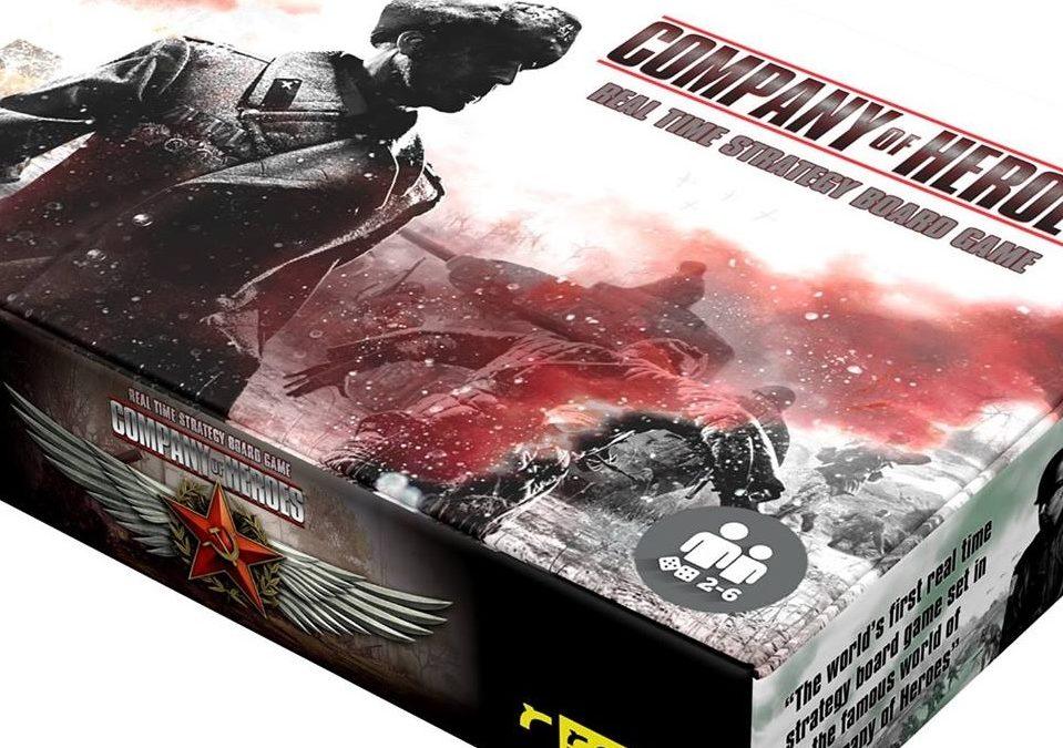 Company of Heroes lleva la guerra a los tableros este mes de abril