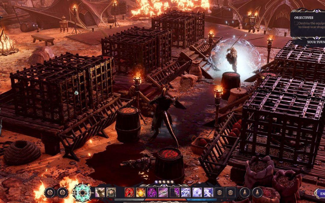 Divinity: Fallen Heroes evoluciona el combate táctico de la saga al más alto nivel