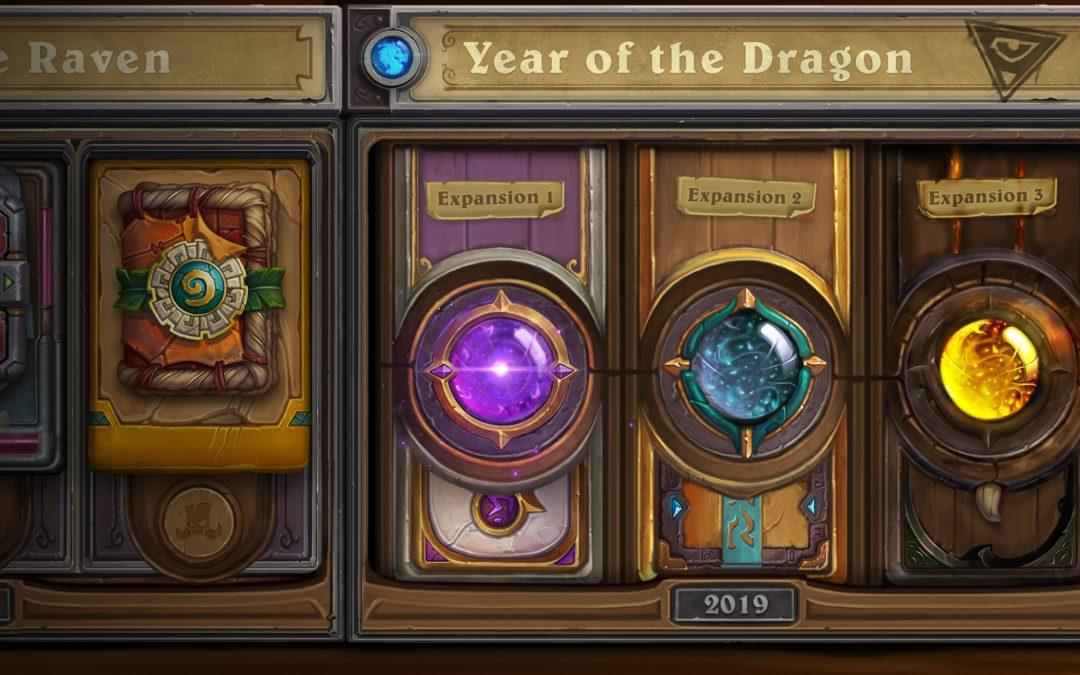 Blizzard renueva Hearthstone con la llegada del Año del Dragón