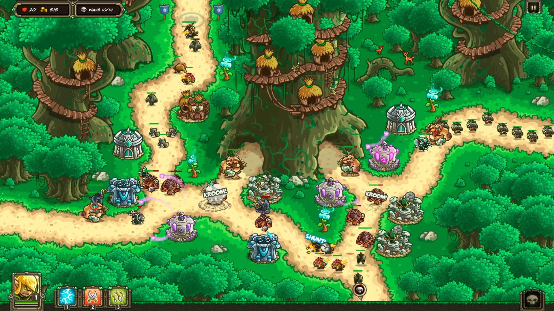 Kingdom Rush Origins recibe una nueva expansión: Forgotten Treasures