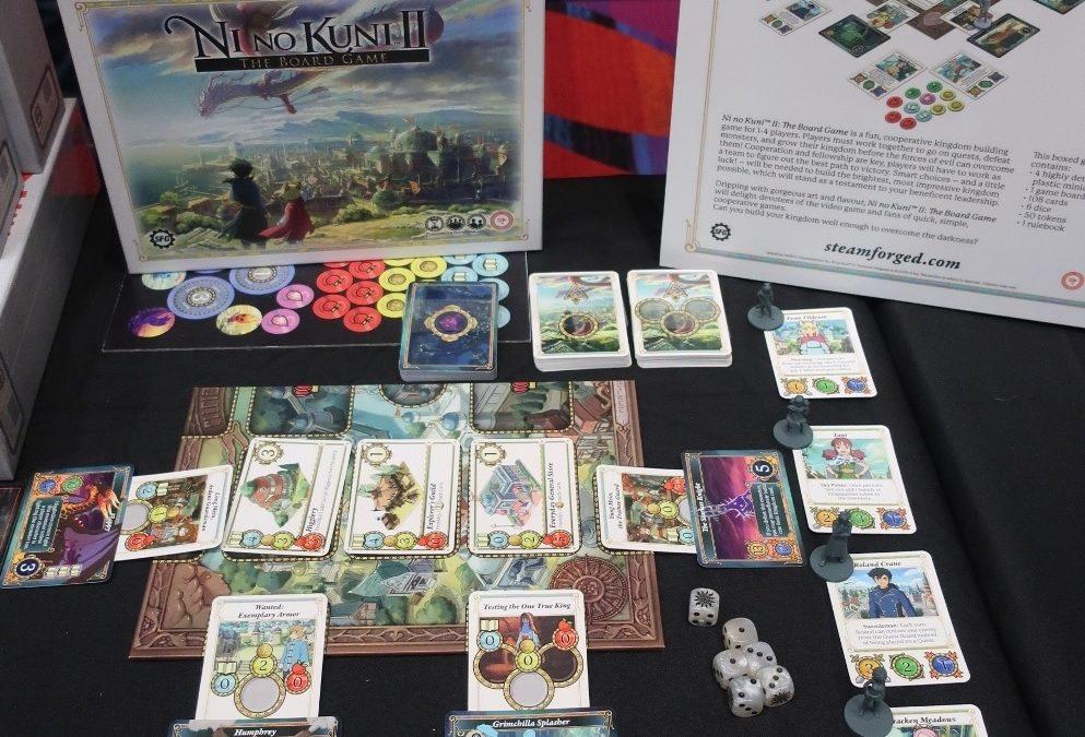 Ni No Kuni II estrenará juego de mesa de mano de Steamforged Games