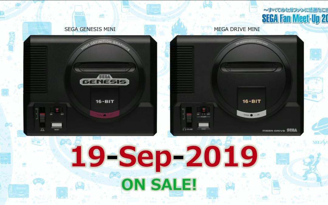 Sega presenta finalmente su Mega Drive Mini