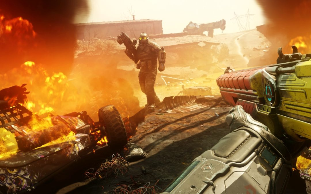 11 minutos de gameplay para Rage 2 y BFG 9000