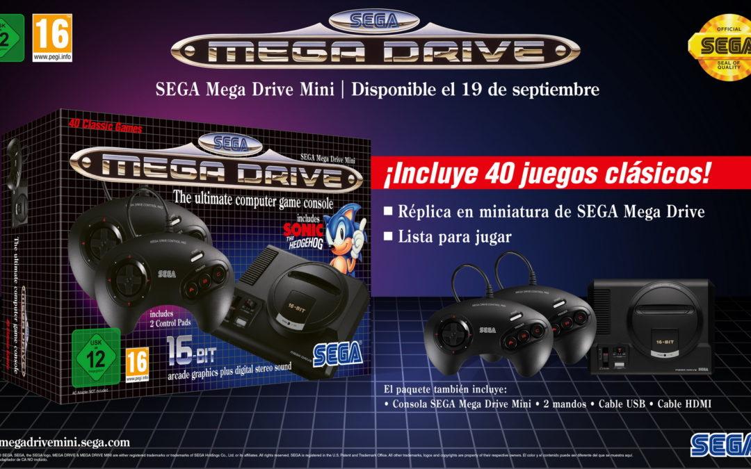 Nuevos juegos confirmados para SEGA Mega Drive Mini