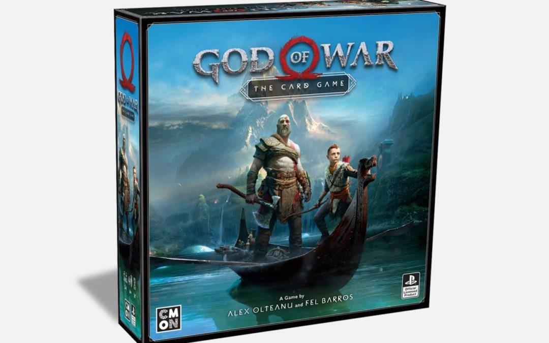 God of War estrena juego de cartas a finales de año