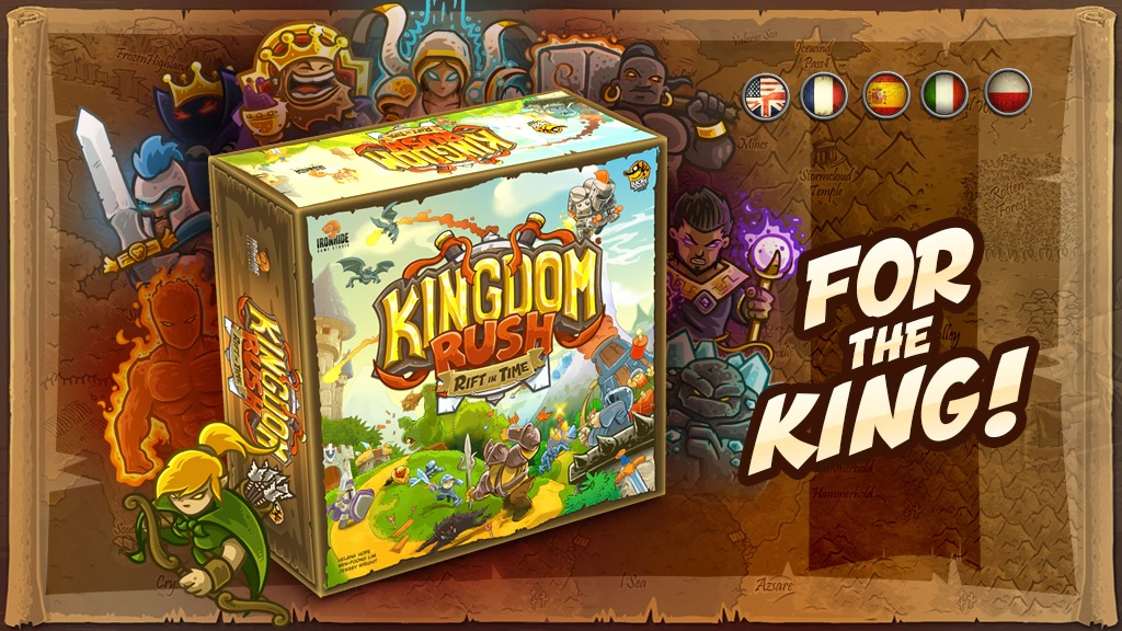 Ironhide Game Studio salta a los tableros con Kingdom Rush: Rift In Time