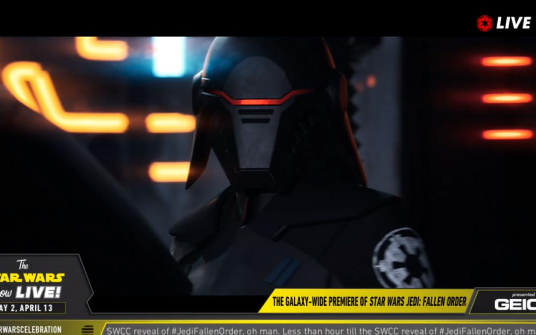 Star Wars Jedi: Fallen Order presentado: salida 15 noviembre en PS4, One y PC (tráiler y detalles dentro)