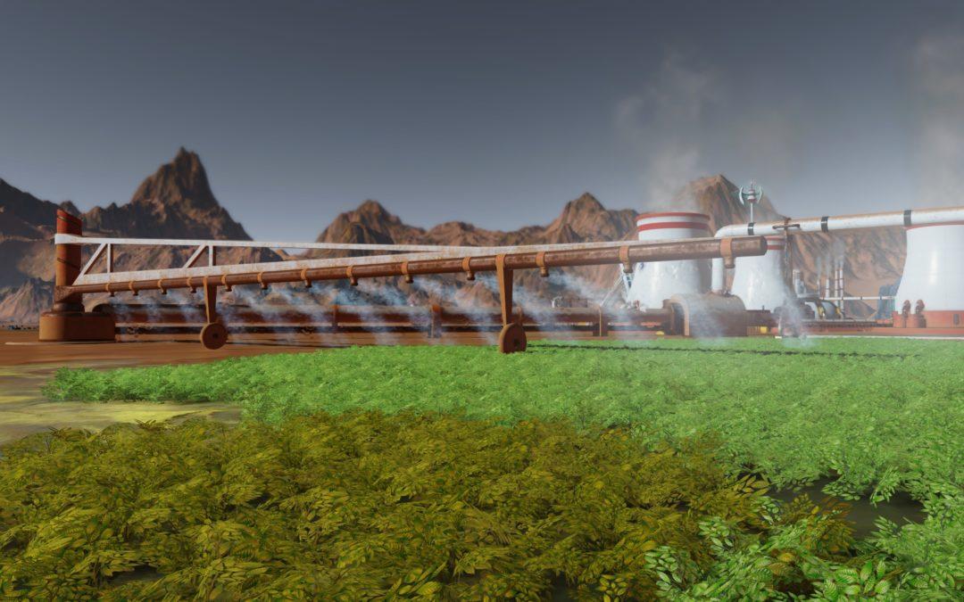Surviving Mars nos invita a terraformar Marte en su próxima expansión