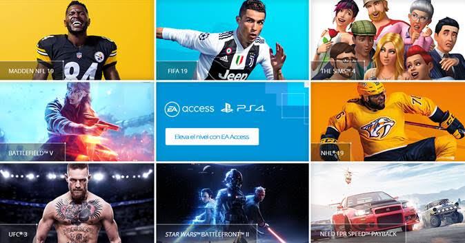 EA Access en PS4 para julio, nuevos juegos para PS Now