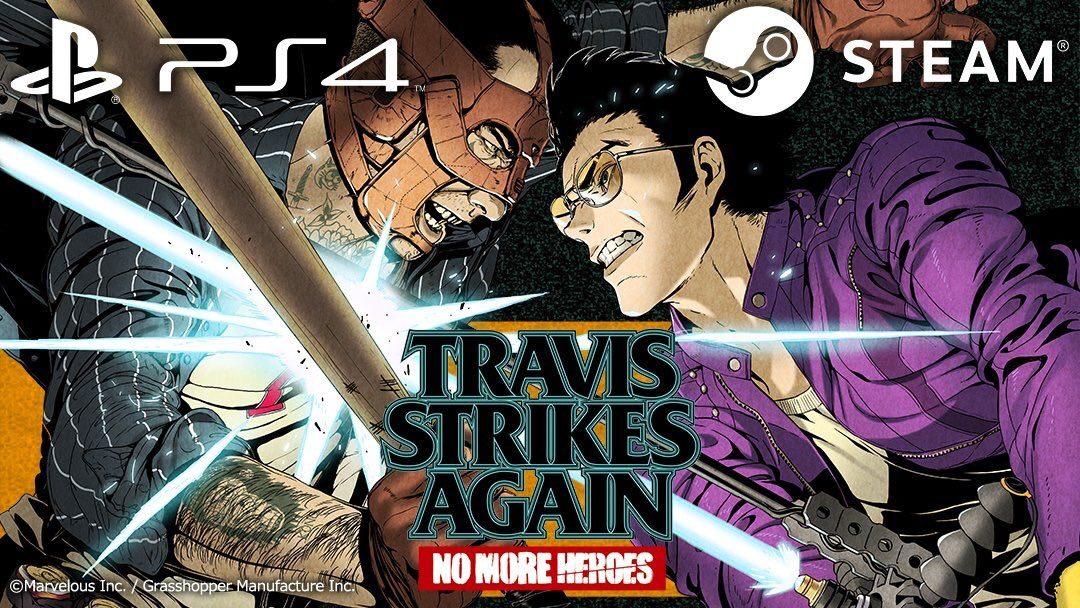 Travis Strikes Again: No More Heroes llegará a Playstation 4 y PC