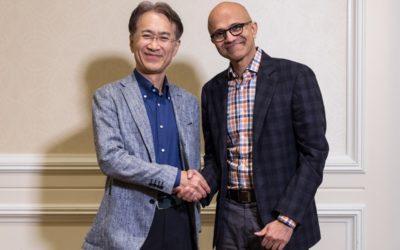 Sony y Microsoft firman una alianza conjunta para potenciar el juego en la nube y la IA