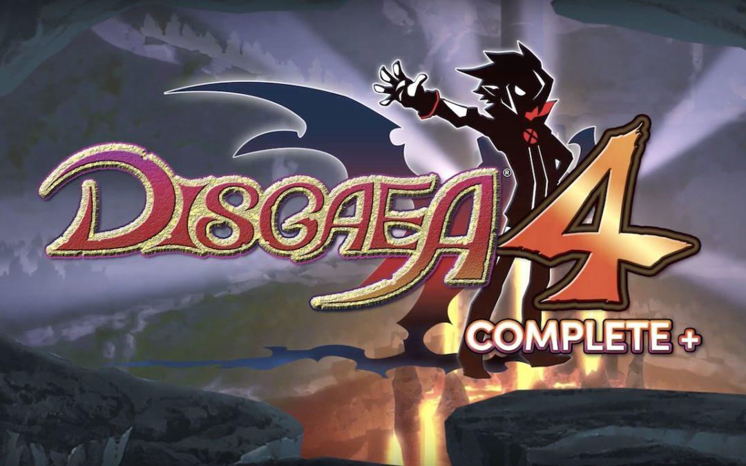 NIS America confirma Disgaea 4 Complete+ para Playstation 4 y Nintendo Switch