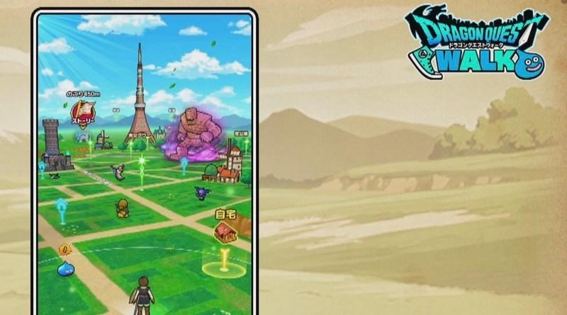 Anunciado Dragon Quest Walk, un Dragon Quest con las características de Pokémon Go