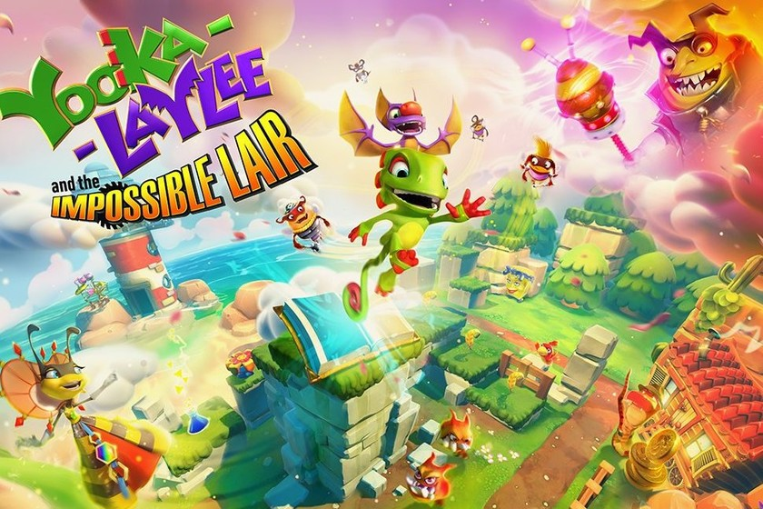 Anunciado Yooka-Laylee and the Impossible Lair, una aventura con 3D y 2.5D