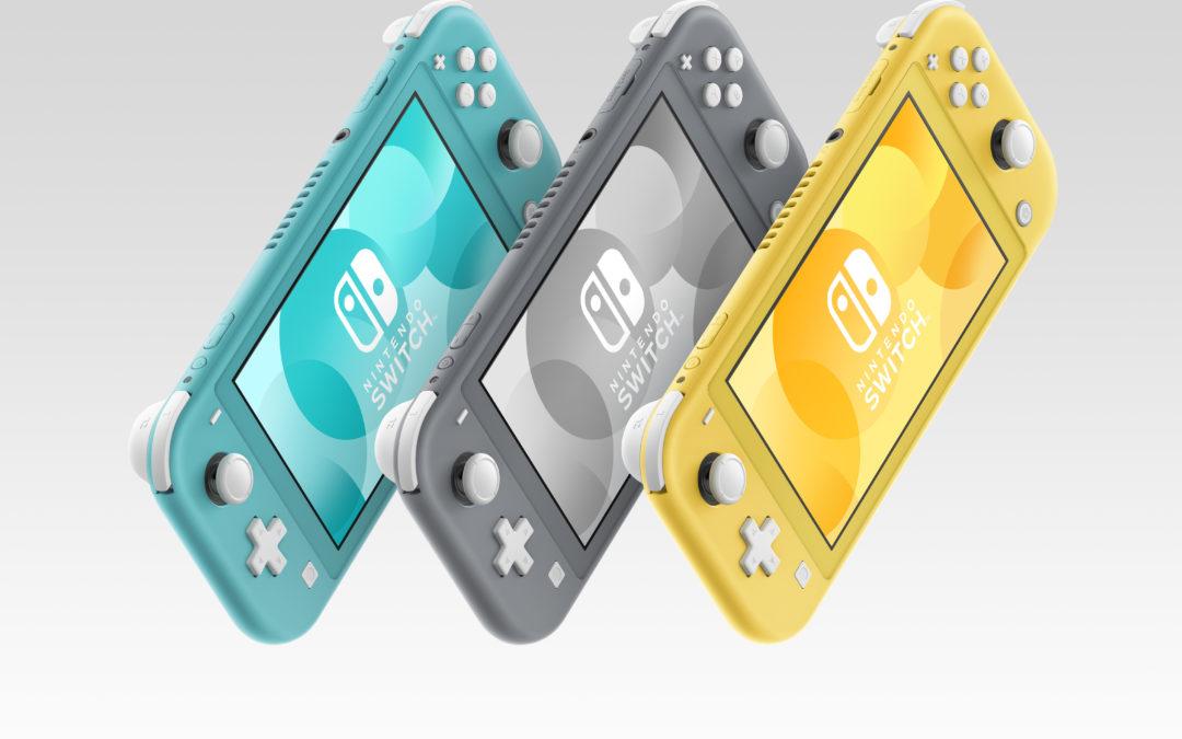 Nintendo Switch Lite anunciada, totalmente portátil y disponible en septiembre