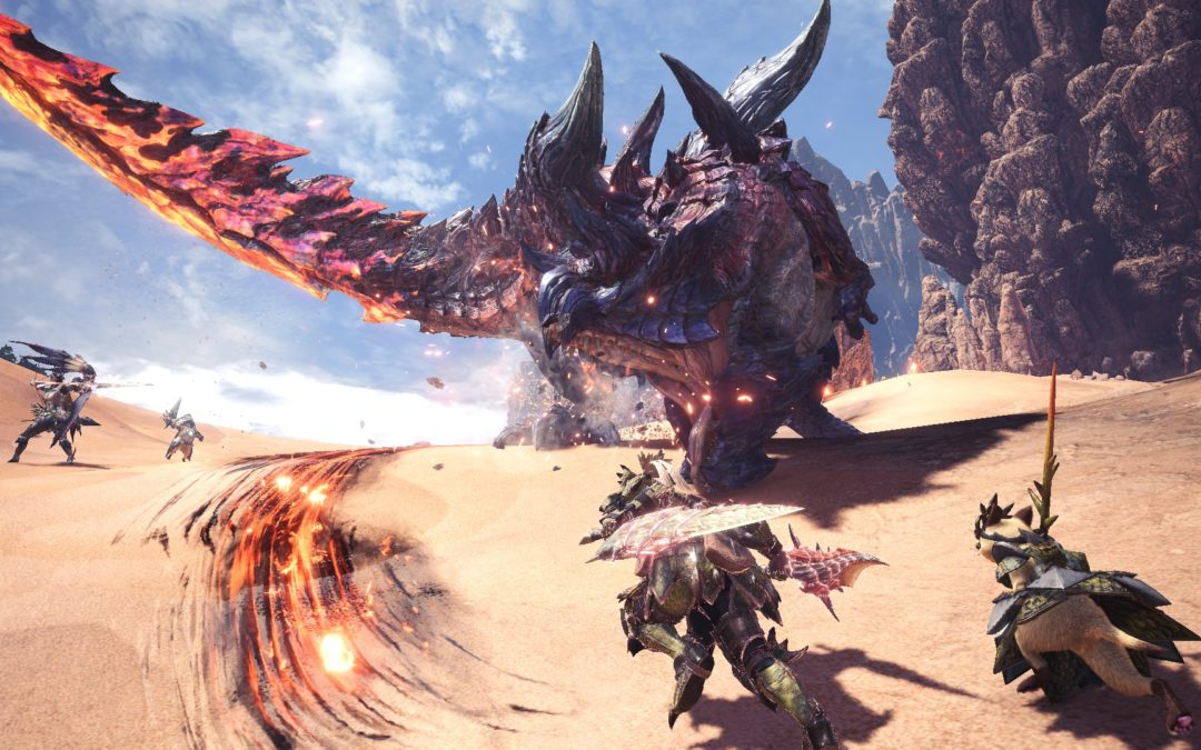 Monster Hunter World: Iceborne será un juego difícil y desafiante