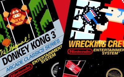 Donkey Kong 3 y Wrecking Crew, los juegos de NES que llegarán a Nintendo Switch Online