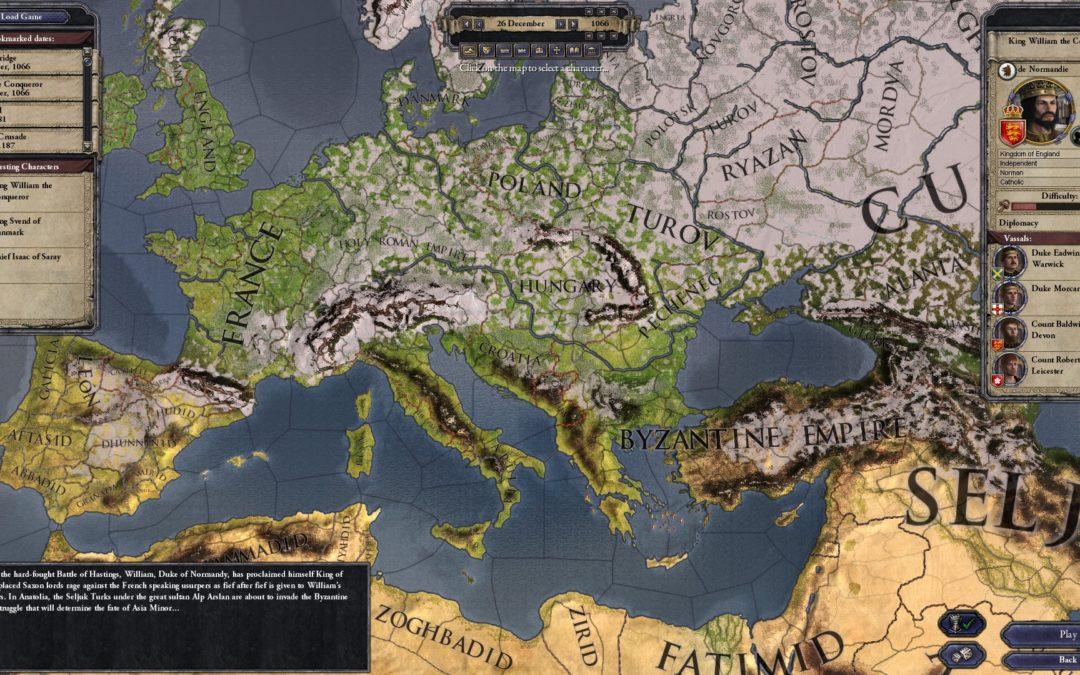 Humble Bundle y Crusader Kings II se unen en un pack irrepetible