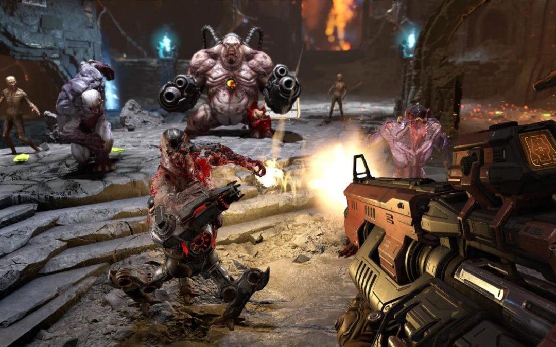 DOOM: Bethesda muestra Battlemode para Eternal, los juegos clásicos llegan a PS4, One y Switch, DOOM 64 posible salida