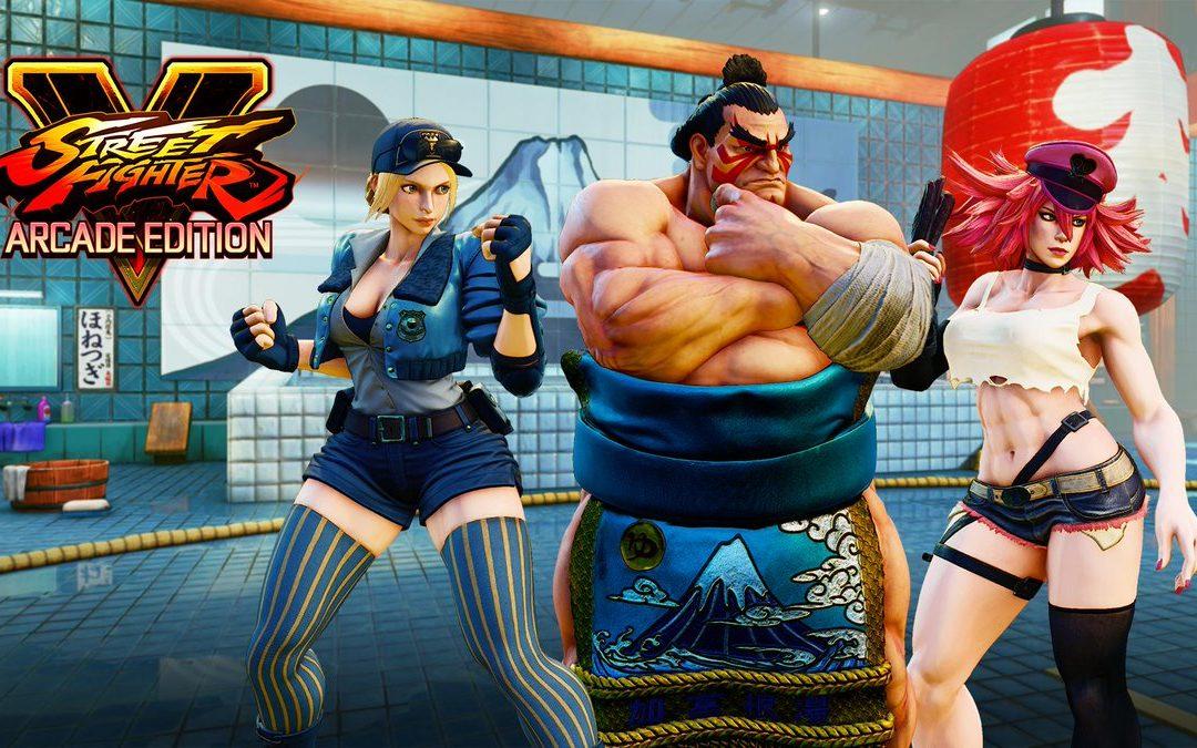 Revelados los nuevos personajes de Street Fighter V: Arcade Edition