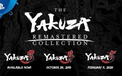 The Yakuza Remastered Collection anunciado con Yakuza 3 ya disponible