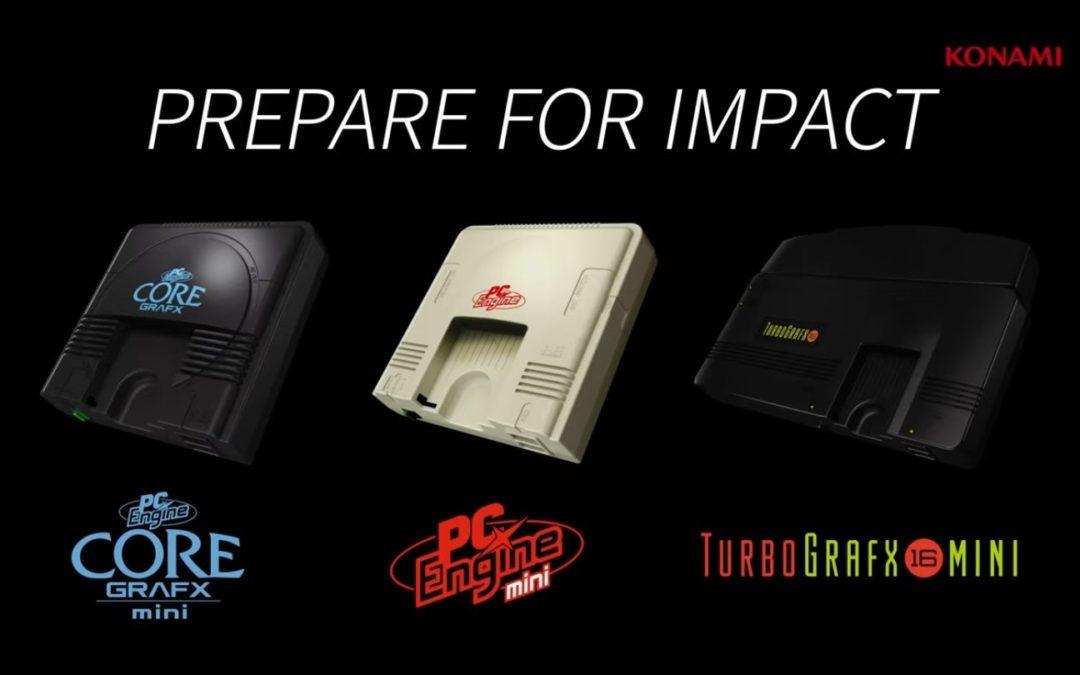 PC Engine CoreGrafx mini completa su lista de juegos y no se lanzará en España