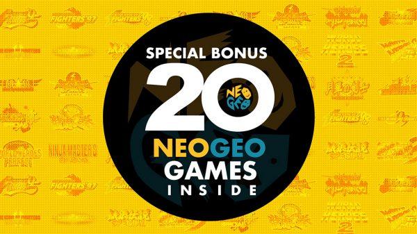 Anunciados los juegos del NEOGEO Arcade Stick Pro