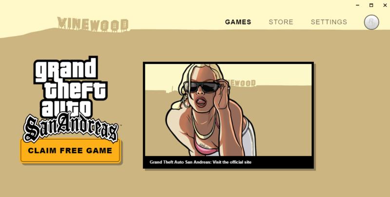 Rockstar tiene un nuevo lanzador de juegos que os permitirá conseguir GTA: San Andreas gratis