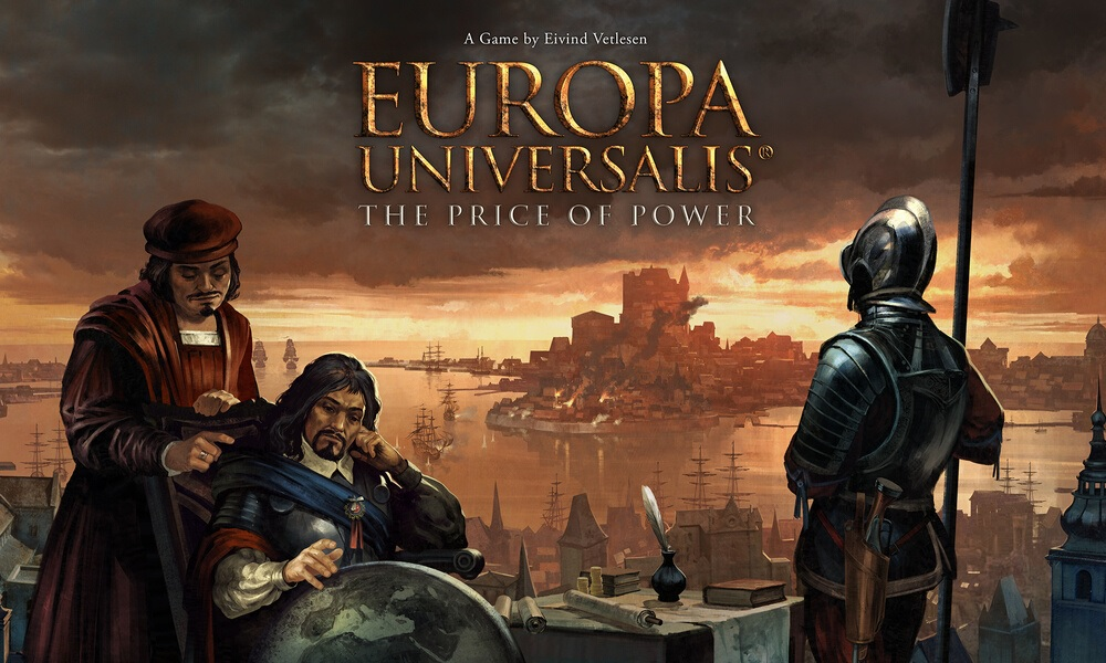 Europa Universalis se transforma en un juego de mesa con The Price of Power