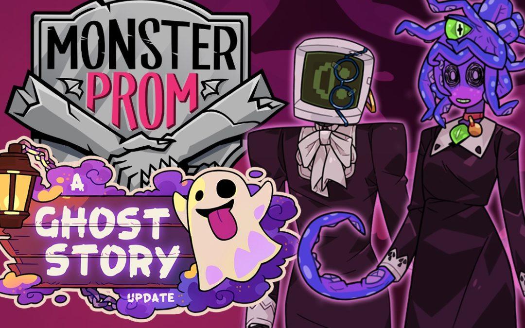 Los monstruos de Monster Prom celebran Halloween con una nueva actualización