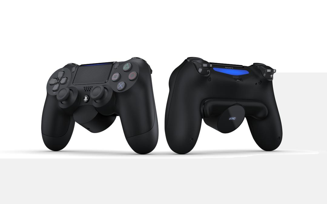 Nuevos juegos en PlayStation Now, Botones traseros para DualShock 4