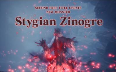 Nueva actualización de Monster Hunter World – Iceborne