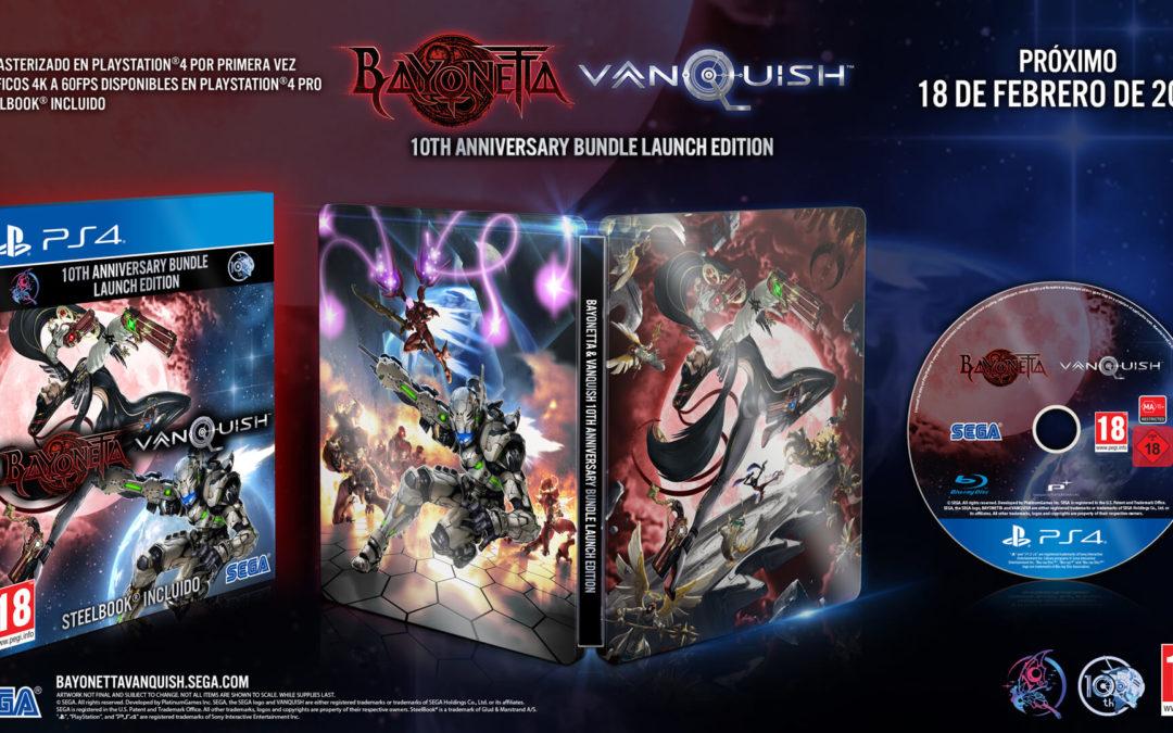 Se confirma la remasterización de Bayonetta y Vanquish en pack para el 18 de febrero
