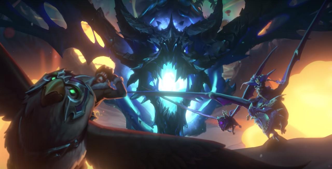 El Despertar de Galakrond, la nueva aventura de Hearthstone, se estrena este 21 de enero