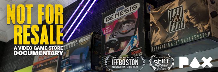 Not For Resale, un documental sobre las tiendas de videojuegos.