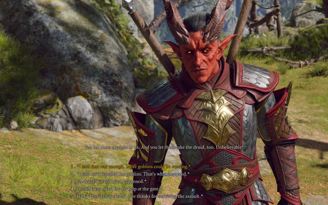 Imágenes filtradas de Baldur's Gate 3