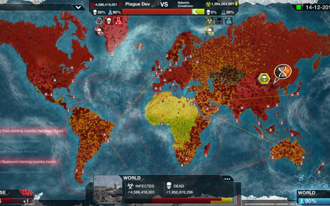 China impide la descarga de Plague Inc. por la expansión del Coronavirus