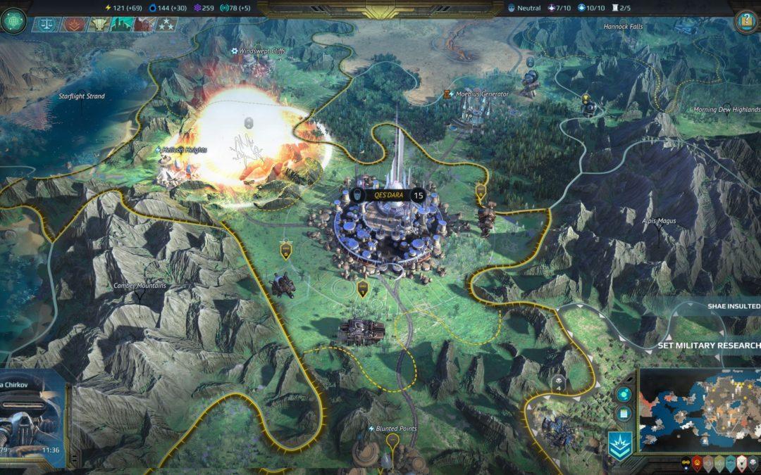 Age of Wonders: Planetfall se renueva con su actualización «Tyrannosaurus»