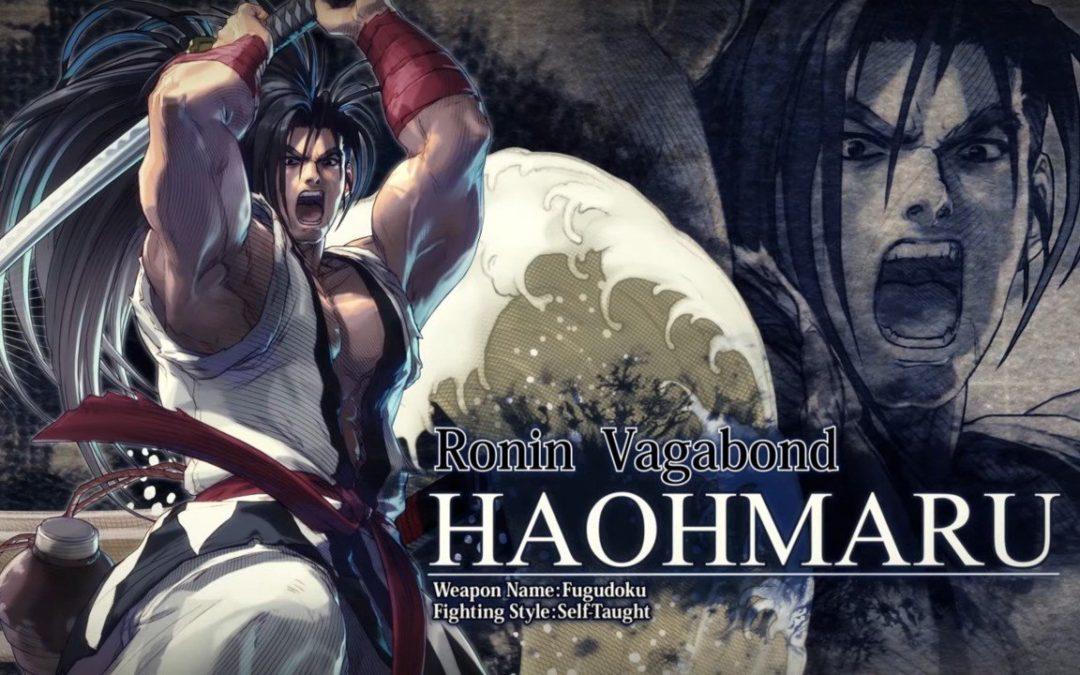 Haohmaru blandirá su katana en Soulcalibur VI la semana que viene