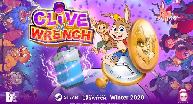 Presentado Clive 'N' Wrench, un plataformas de estilo clásico en 3D