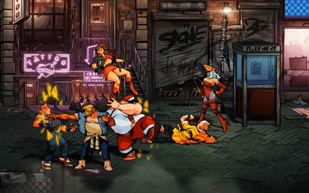 Amor por el píxel en el nuevo tráiler de Streets of Rage 4 y precio confirmado (24,99€)