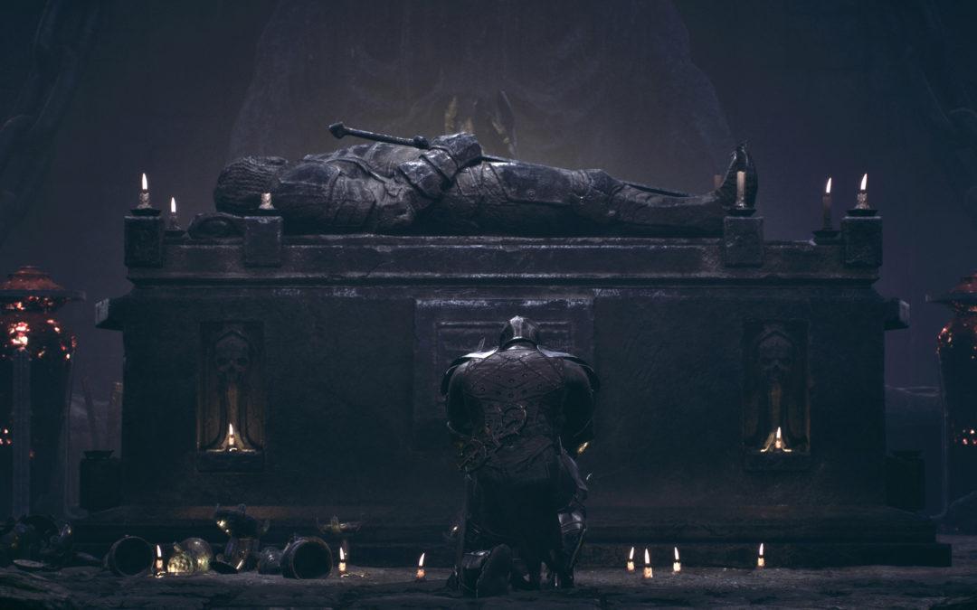 Mortal Shell se presenta con sus influencias de Dark Souls en un mundo de fantasía oscura y RPG