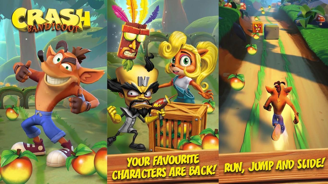 Crash Bandicoot llega a móviles con Crash Bandicoot Mobile