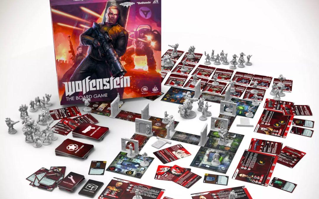 Wolfenstein se convierte en un dungeon crawler en su versión de juego de mesa