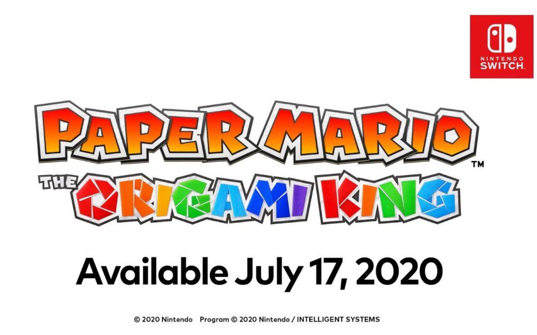 Sorpresa, Paper Mario: The Origami King anunciado para el 17 de julio