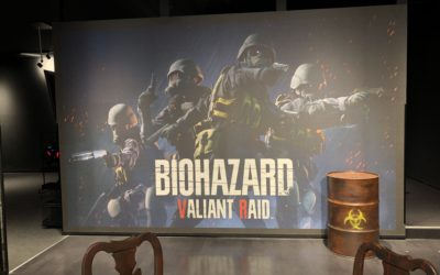 Viaje, virtual, al mundo de Resident Evil con RE: Valiant Raid y Walkthrough The Fear