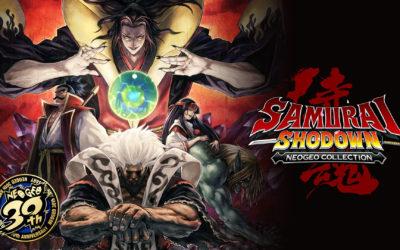 Los espadachines de SNK vuelven en Samurai Shodown NeoGeo Collection