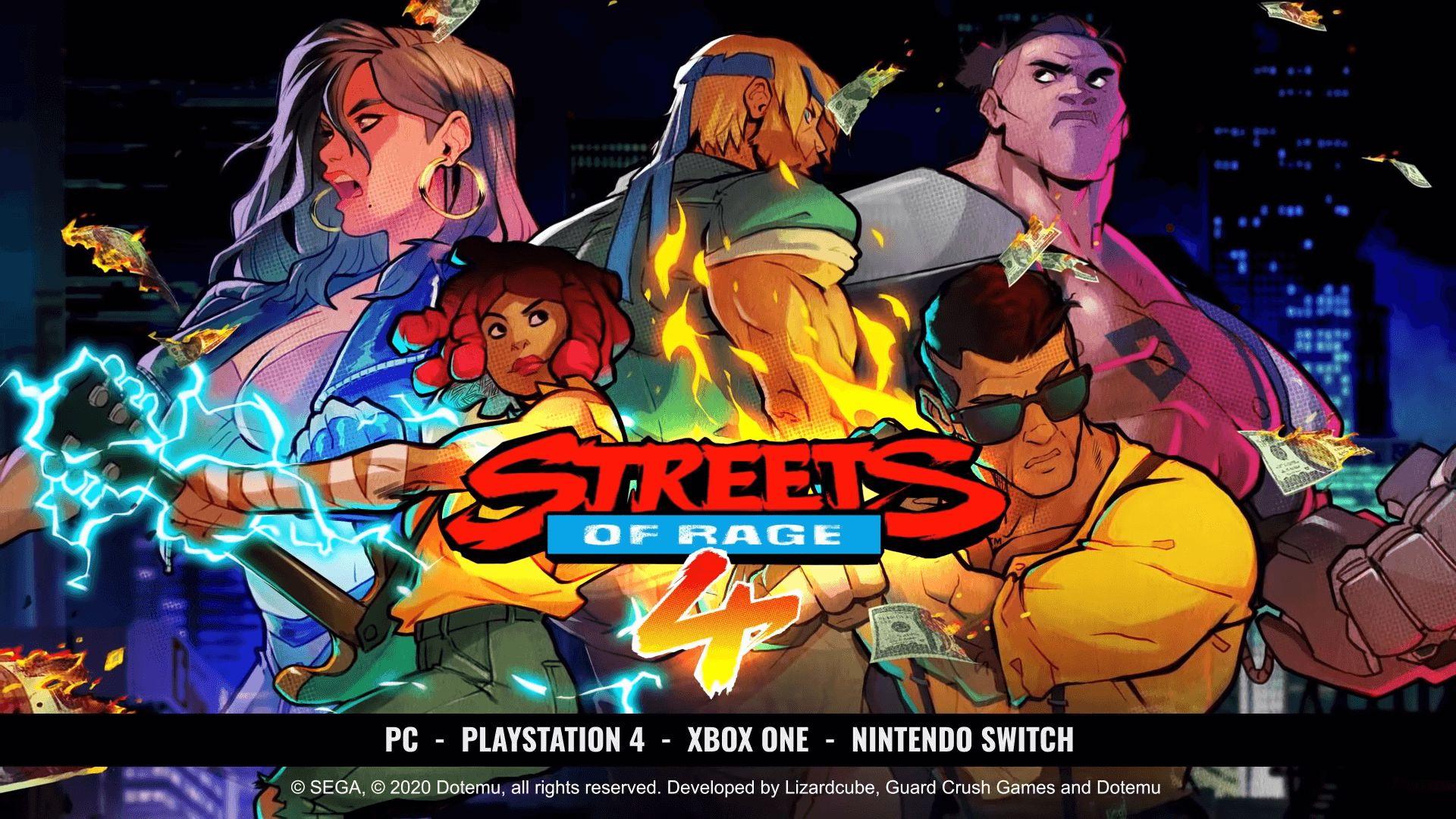 Streets of Rage 4 tendrá una nueva edición física que llegará a España en verano